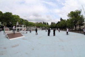 スケートボード教室 @ 駒沢公園ss広場